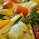 Lemony Roasted Veggies