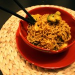 Curried Mie Noodle Stir-Fry